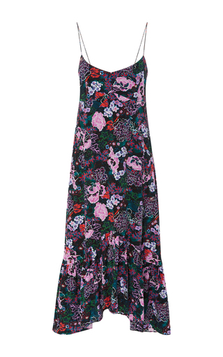 Medium saloni floral inga floral slip dress