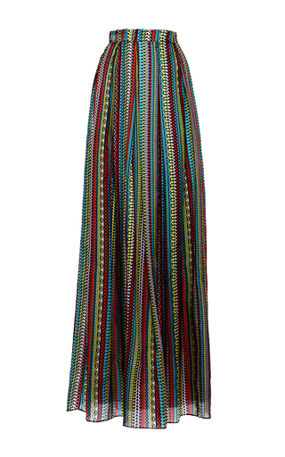 Medium holly fulton multi high waisted printed maxi skirt