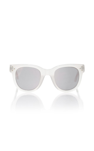 Medium spektre silver she loves you opal sand sunglasses