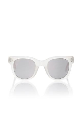 Medium spektre silver she loves you opal sand sunglasses