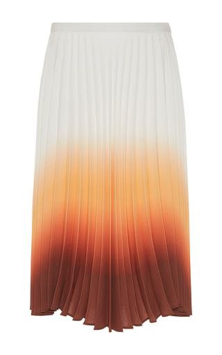 Medium j w anderson multi ombre pleated skirt