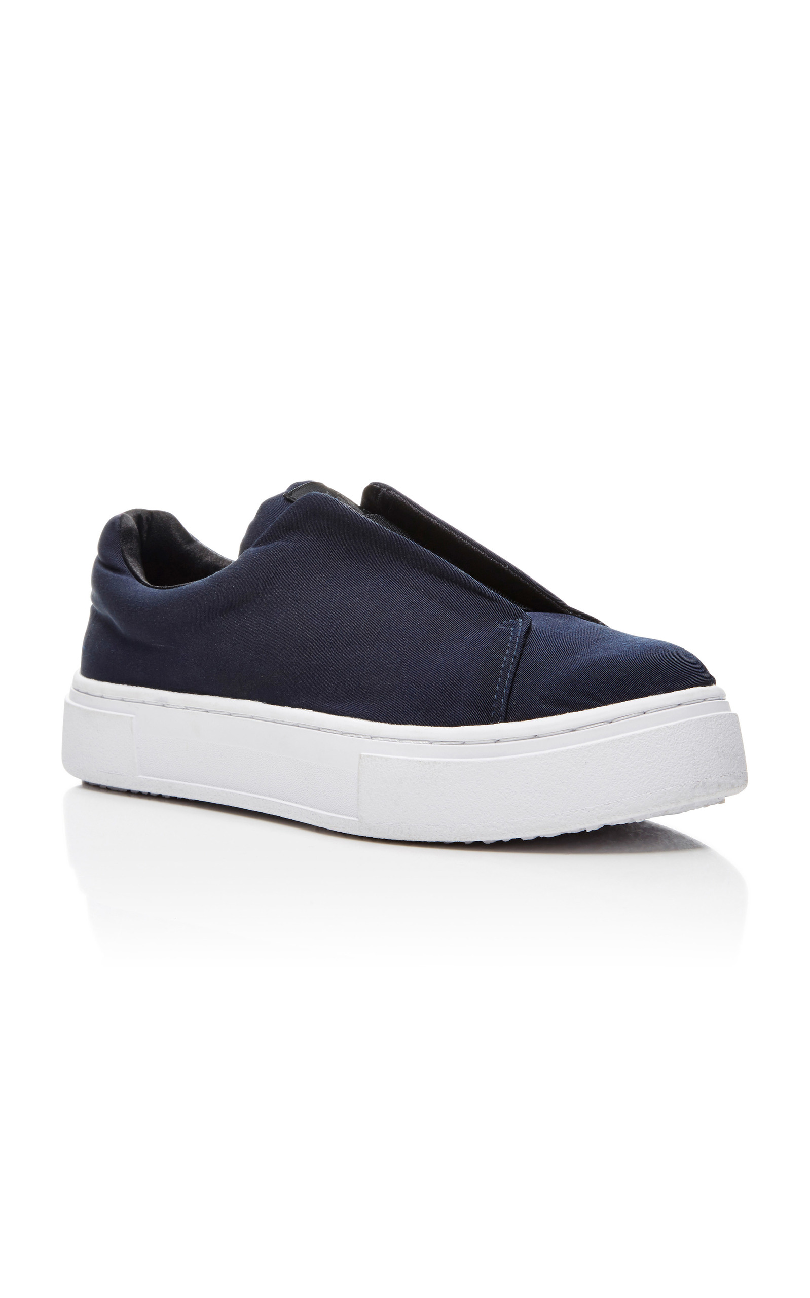 Alexander Wang Navy Canvas Doja Slip-On Sneakers