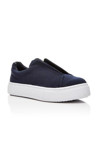 Medium eytys navy navy doja slip on sneakers