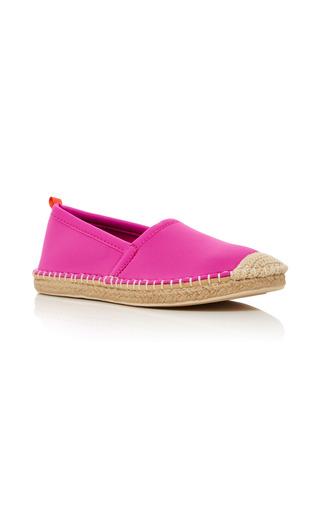 Medium sea star beachwear pink kid s raffia espadrille