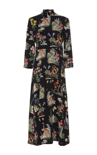Medium vivetta print pangolino midi dress