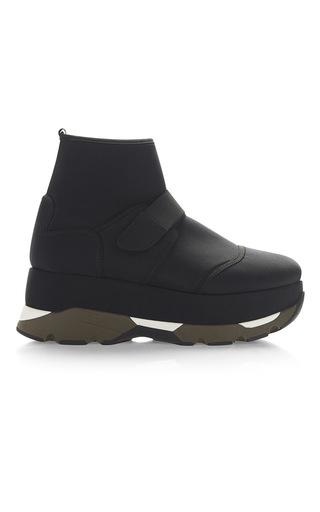 Medium marni black velcro high top sneakers