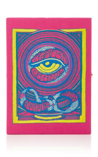 Medium olympia le tan pink eye clutch