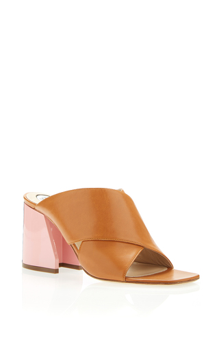 Medium paula cademartori tan daria mule