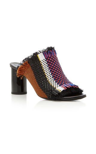 Medium proenza schouler multi woven leather mules