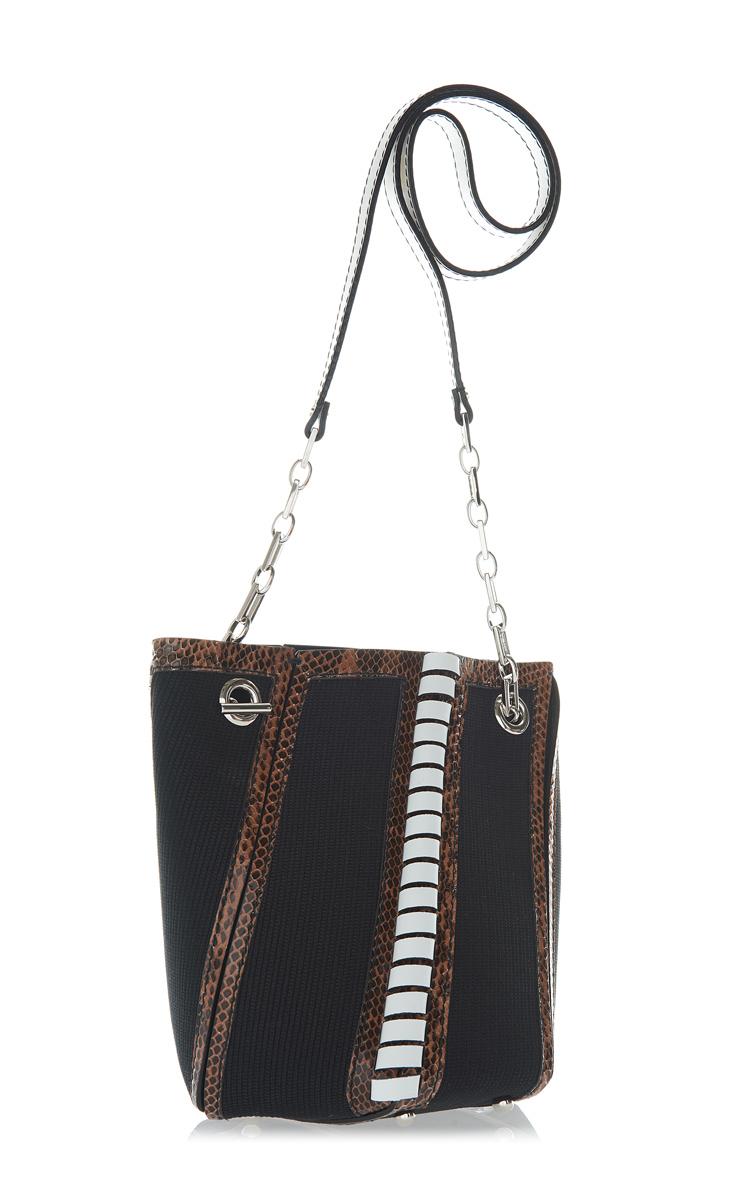 PROENZA SCHOULER Leathers Mini Hex Bucket Bag