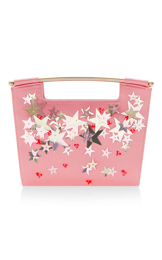 Medium delpozo pink star embellished mini gret clutch 2