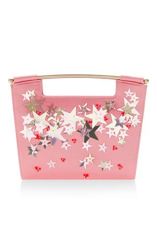 Medium delpozo pink star embellished mini gret clutch 2