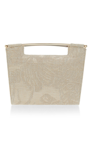 Embellished Mini Gret Clutch by DELPOZO Now Available on Moda Operandi