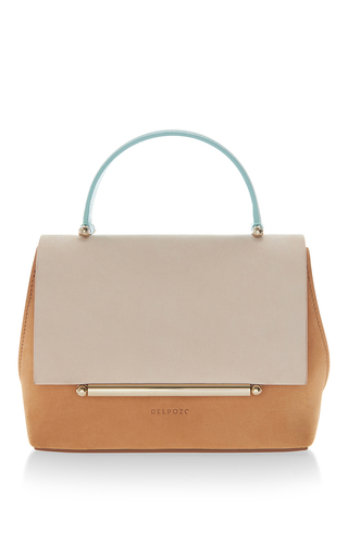 Medium delpozo nude mini bo crossbody bag 3