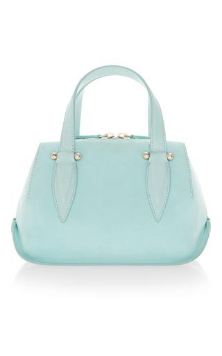 Medium delpozo blue mini bendetta top handle bag