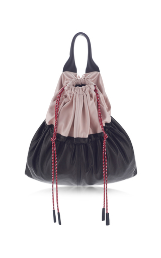 Medium marni black drawstring hand bag