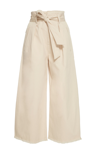 Medium isabel marant etoile off white odea cropped wide leg pants