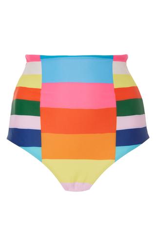 Medium mara hoffman stripe rainbow stripe bikini bottom