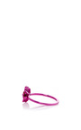 Pave Pink Flower Mini Ring by AS29 for Preorder on Moda Operandi