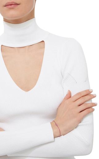 Mini Pink Infinity Chain Bracelet by AS29 for Preorder on Moda Operandi