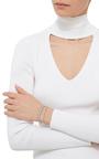Mini Blue Full Round Chain Bracelet by AS29 for Preorder on Moda Operandi