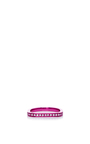 Lana Xs Sharp Pink 1 Line Pinky Ring by AS29 for Preorder on Moda Operandi