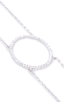 La Collection Oval Diamond Double Chain Choker by AS29 for Preorder on Moda Operandi
