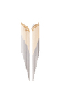 Golda S Earrings With Chains by AS29 for Preorder on Moda Operandi