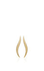 Golda Gold S Shape Earrings With Clip by AS29 for Preorder on Moda Operandi