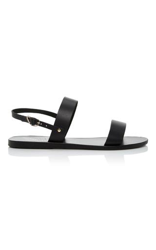 Medium ancient greek sandals black clio gladiator sandals