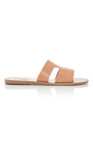 Medium ancient greek sandals tan apteros sandals