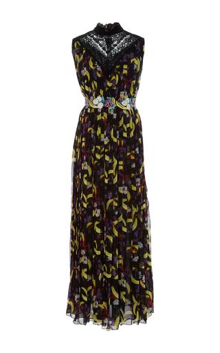 Medium giamba print banana print sleeveless dress