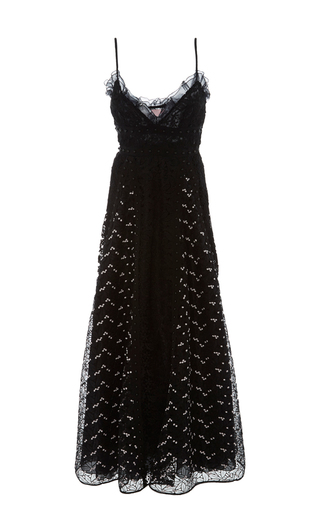 Medium giamba black sweetheart lacey dress