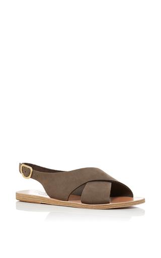Medium ancient greek sandals green maria sandals