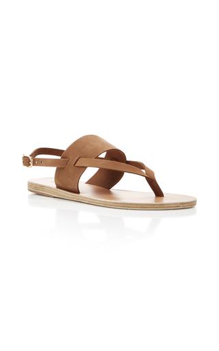 Medium ancient greek sandals tan zoe gladiator sandals