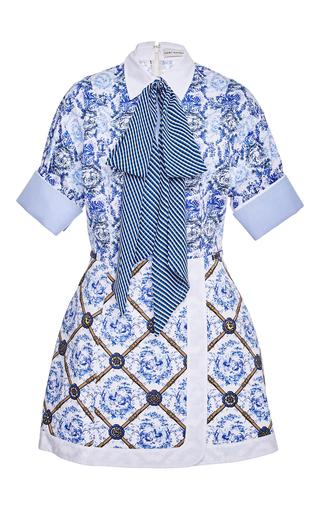 Medium mary katrantzou print hayward neck tie dress