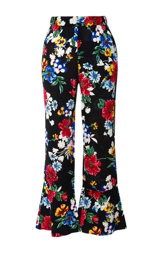 Medium piamita floral floral pandora cropped flare pants