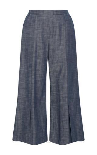 Medium piamita blue harley cropped chambray pants