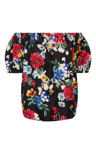Medium piamita floral rosie off the shoulder blouse