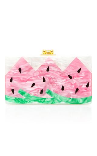 Medium edie parker light pink m o exclusive jean watermelon clutch