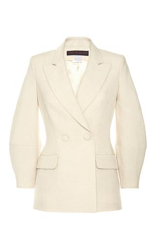 Medium martin grant neutral double breasted diamond sleeve jacket