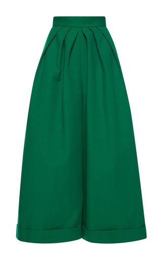 Medium delpozo green wide legged trousers 2