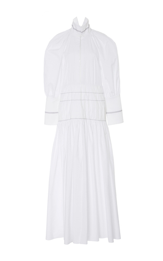Medium ellery white sword long sleeve dress