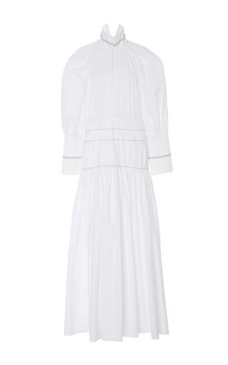 Medium ellery white sword long sleeve dress