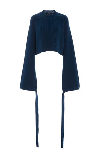 Medium ellery blue monty cropped sweater