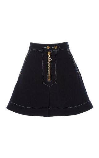 Medium ellery navy el topo mini skirt