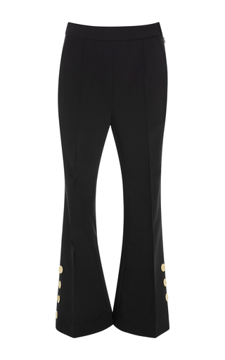 Medium ellery black m o exclusive bulgaria cropped flared pants