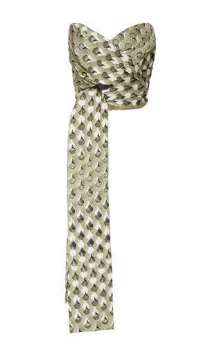 Medium acler multi ambrose wrap strapless bodice