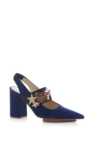 Medium delpozo blue stars slingback sandal