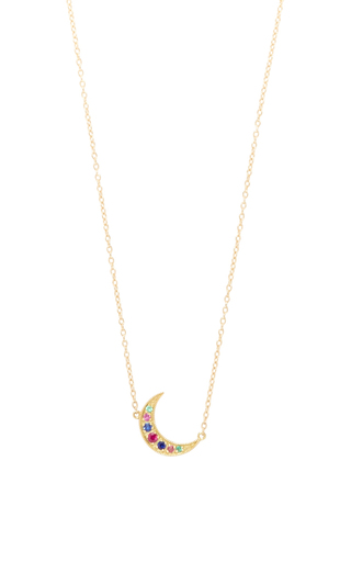 Medium andrea fohrman multi mini crescent necklace